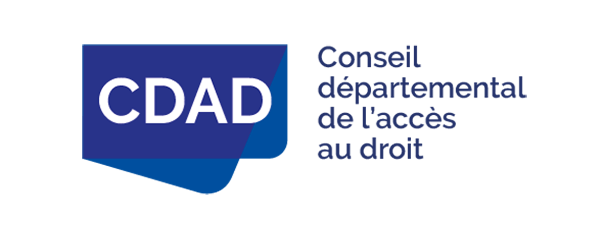 Logo du Conseil départemental de l'accès au droit.